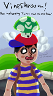 artist:caesarsaladassassination game:earthbound ness streamer:vinny // 1000x1800 // 980.6KB