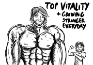 artist:bendacriss game:tomodachi_life muscles streamer:vinny swole vlinny // 700x490 // 275.0KB