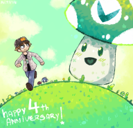 4th_anniversary artist:metasight streamer:vinny // 1000x970 // 749.4KB