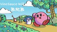 artist:befuddled brb game:kirby_star_allies kirby scoot streamer:vinny vineshroom // 1920x1080 // 711.8KB