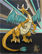 artist:sir_silver dragonite game:pokemon streamer:joel // 1000x1300 // 192.9KB