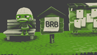 animated artist:shugarshock brb game:animal_crossing game:animal_crossing_new_leaf retro scoot streamer:vinny // 960x540 // 1.1MB