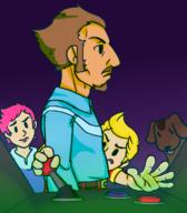 artist:Ra-ooo boney duster game:mother_3 kumatora lucas streamer:vinny // 1000x1144 // 468.2KB
