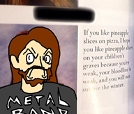anger pineapple pizza streamer:joel // 500x429 // 119.2KB