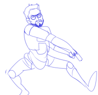 artist:tittyfish game:black_mesa gordon_freeman streamer:joel // 714x699 // 112.5KB