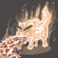 artist:stinkbug flareon pokedraw pokemon streamer:joel // 600x600 // 204.4KB