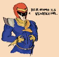 artist:mugi captain_falcon game:f-zero streamer:vinny // 1136x1098 // 313.2KB