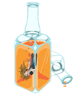 alcohol animated artist:lunaticlunic bottle dead drinking drunk streamer:joel // 600x735 // 92.3KB