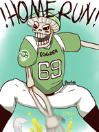 egg football skeleton streamer:joel vinesauce // 640x850 // 341.3KB