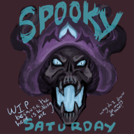 artist:sixshotsamael skeleshroom spooky_saturday streamer:joel vineshroom wip // 500x500 // 239.6KB