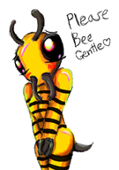 #beesex artist:lizzaroro bee game:super_mario_galaxy gpm streamer:vinny // 420x594 // 129.3KB
