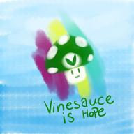 Vinesauce_is_Hope_2017 artist:eulotrant charity_stream streamer:vinny vineshroom // 2048x2048 // 474.6KB