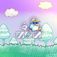 Bumpty artist:Not_Nameless game:Super_Mario_Advance_4 penguin streamer:vinny // 800x800 // 1.1MB