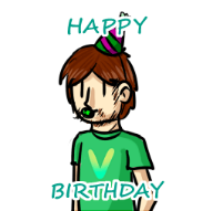 animated artist:akarimms birthday streamer:vinny // 255x254 // 71.3KB