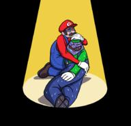 artist:monojojo game:Mario_and_Luigi_Superstar_Saga luigi mario streamer:vinny // 911x875 // 45.2KB