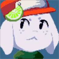 game:cave_story pixel_art quote streamer:limes // 96x96 // 4.8KB