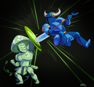 artist:burd game:shovel_knight shovel_knight streamer:vinny // 986x909 // 725.7KB