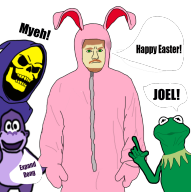 artist:chowder908 bonzi_buddy easter kermit_the_frog skeletor streamer:joel // 1005x1007 // 390.0KB