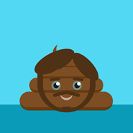 artist:fingers_are_optional emoji poop streamer:vinny // 800x800 // 22.5KB