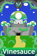 artist:azrealmtv castle streamer:vinny vineshroom // 1000x1500 // 889.7KB