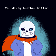 bad_time game:undertale genocide sans streamer:joel undertale_spoilers // 1000x1000 // 501.9KB