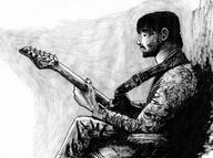 artist:technomoose guitar ink pencil red_vox streamer:vinny traditional // 2000x1490 // 2.2MB