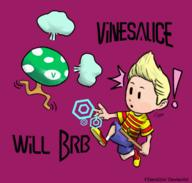 artist:Dem brb game:mother_3 lucas ramblin_mushroom streamer:vinny // 560x533 // 170.1KB