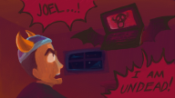 artist:frangodango hardcore_friday laptop spooky spooky_saturday streamer:joel // 800x450 // 208.2KB