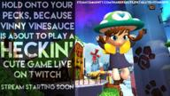 3d artist:Zarkith game:a_hat_in_time hat_kid mod peck stream_starting_soon streamer:vinny vineshroom // 1280x720 // 1.2MB