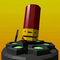 3d artist:carecoaxer game:enter_the_gungeon streamer:vinny // 720x720 // 2.2MB