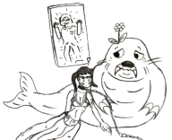 artist:profoatmeal game:star_wars game:tomodachi_life jabba streamer:vinny two_faced vinesauce walrus // 1000x814 // 296.0KB