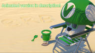 3d animated artist:vortigaunt4 beach brb loop streamer:vinny video vineshroom webm // 1280x720 // 191.5KB