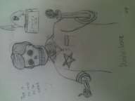 artist:greenworth bones dancing duane nito party rave skeleton streamer:joel wip // 2048x1536 // 937.1KB