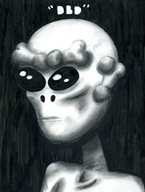 alien artist:weirdosheep ayylmao streamer:vinny traditional_art ufo // 1200x1586 // 1.2MB
