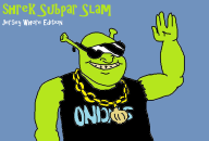 artist:katcam007 game:shrek_super_slam ms_paint parody shrek streamer:vinny // 725x493 // 31.9KB