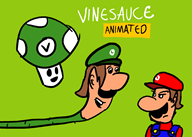animation game:logan_kart_8 luigi mario vinesauce vinesauce_animated // 2100x1500 // 83.0KB