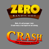 artist:piergaming bootleg crash_bandicoot logo streamer:joel // 700x700 // 171.6KB
