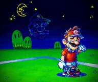 artist:Caption_Panic character:mario game:mario_tennis_aces streamer:vinny // 2000x1669 // 2.3MB
