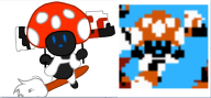 cap cartridge_tilting corruptions game:super_mario_bros streamer:joel toad // 882x413 // 233.4KB