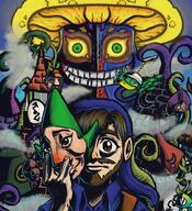 artist:LeFanFrick game:majora's_mask game:majora's_mask_randomized streamer:vinny // 2000x2200 // 4.4MB