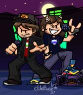 artist:elilettuce game:friday_night_funkin streamer:joel streamer:vinny // 2154x2467 // 1.2MB