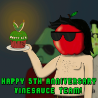 5th_anniversary apple_dave artist:crymsonwrench pear_joe streamer:vinny vinesauce // 1000x1000 // 3.0MB