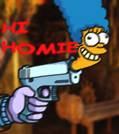 bullet game:enter_the_gungeon gun marge_simpson streamer:vinny the_simpsons // 800x900 // 38.9KB