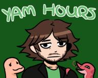 animated artist:condylicious gif laughing_snakes meat streamer:vinny yam_hours // 1000x800 // 253.1KB