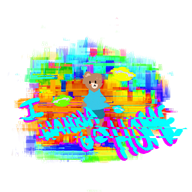animated artist:mugi game:lsd_dream_emulator game:teddy_floppy_ear streamer:vinny // 800x800 // 2.6MB