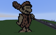 flintstones grand_dad mario minecraft pixel_art streamer:joel // 1440x900 // 366.4KB