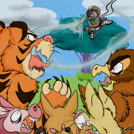 artist:mythi attack_on_titan charity_stream game:winnie_the_pooh's_home_run_derby streamer:revscarecrow tigger // 2000x2000 // 2.7MB