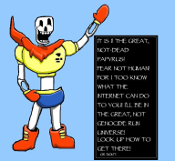 cool dude game:undertale genocide_run papyrus skeleton streamer:joel // 933x861 // 97.5KB