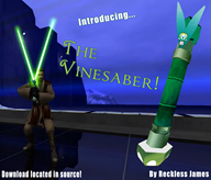 artist:reckless_james game:star_wars_jedi_academy lightsaber star_wars streamer:vinny vineshroom // 949x812 // 951.4KB