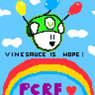 Vinesauce_is_Hope_2017 artist:JoDaEpicGuy charity_stream pcrf streamer:vinny vineshroom // 768x768 // 17.0KB